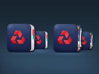 Banking App Icon set