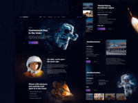 Landing Page – Cosmonauts Day In The Urals