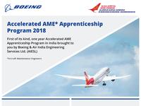 Boeing | Air India - Apprenticeship Design Project