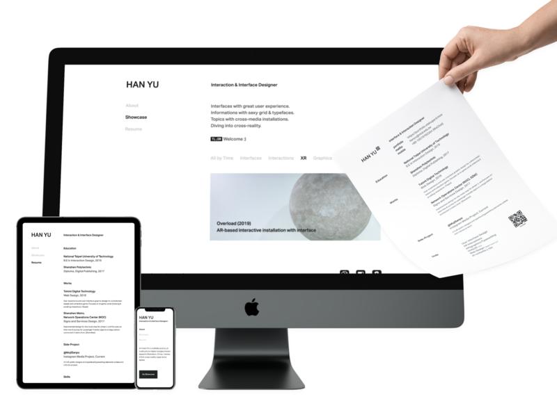 Boldstorming - Cross mediums personal identity personal brand rwd ux ui interface branding typography webdesign