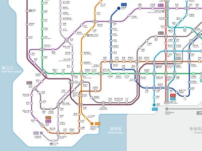 Metro Map - A better ball of wool