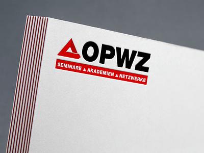 opwz logo branding logo design