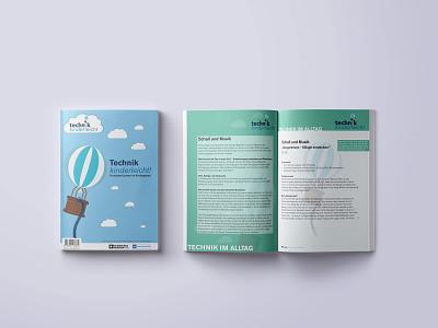 technik kinderleicht   magazin fast print editorial design