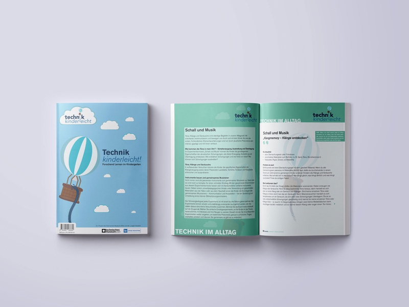 technik kinderleicht   magazin fast print editorial design