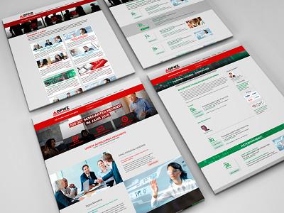 opwz website screendesign website logo branding design