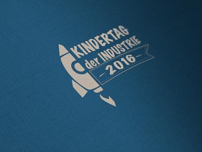 Kindertag der Industrie screendesign print branding logo design