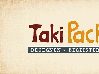 Taki Pacha illustration web typography website screendesign print branding logo design