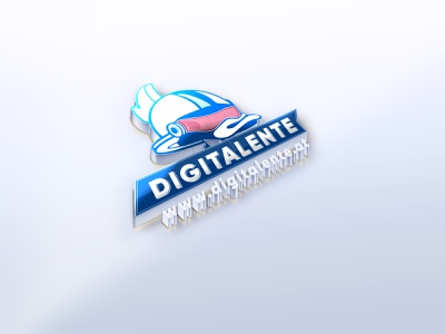 digitalente draft fun design logo