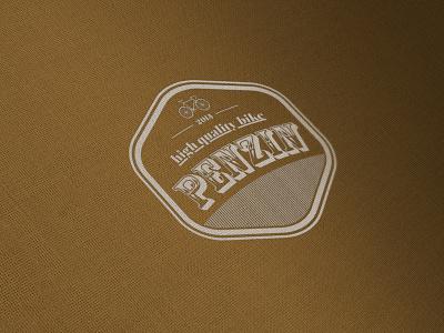 penzin quality bikes fun logo design