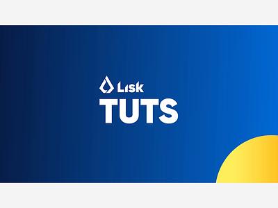 Lisk Hub Tutorial Intro design ui animation motion graphics