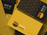 RoyalGold™ Logo & Branding Identity business card branding business proposal illustration identity professional creative logo