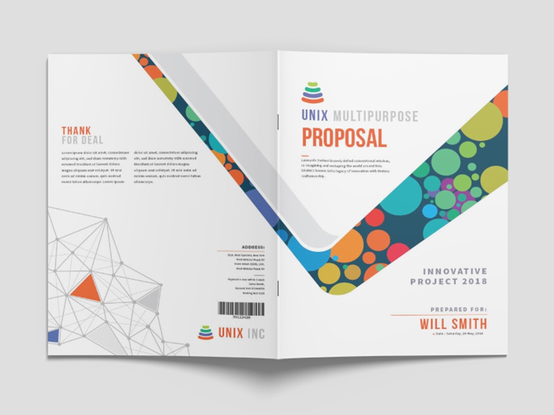 Creative business proposal layout indesign project by yasin arafat creative and professional proposal templates for creative businesses created in various file types like adobe indesign in international din a4 and us cheaphphosting Choice Image