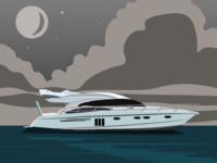 Yacht Illustration