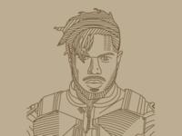 Killmonger Illustration