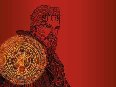 Doctor Strange Illustration