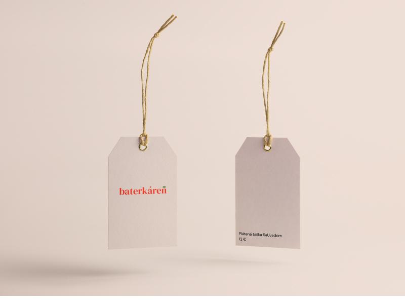Baterkaren Price Tag logo colorful clean visual identity branding identitydesign minimal