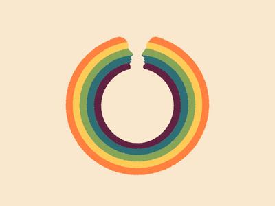 Love Circle abstract art minimal curiouskurian art freelance illustrators abstract artist illustrator artprint illustration