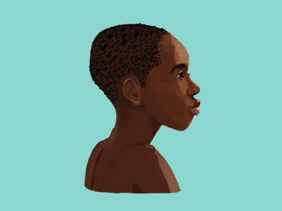 Character Face Study | 05 2d art curiouskurian animation 2d digital art photoshop illustrator illustration face boy african africa character sketch