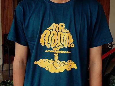 Mr Durantham T shirt Design tshirt design merchandise design design illustrator curiouskurian handlettering custom lettering lettering