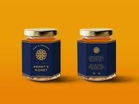 Henry's  Honey Label