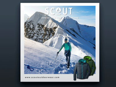 Scout Outdoor Wear ad