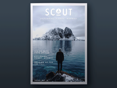 Scout Outdoor Wear Magazine Cover