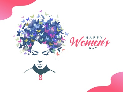 Happy Women's Day! festival festival poster ui womens day colors designer working women women empowerment women