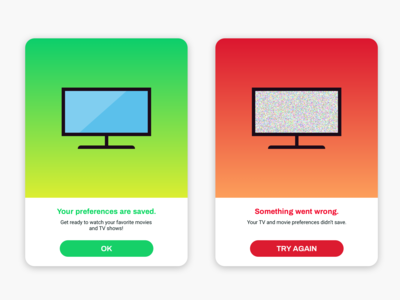 Daily UI Challenge - Day 11 - Flash Message