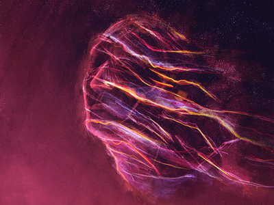 Soul lights shadows human art mindful exploration procreate colorful design illustration