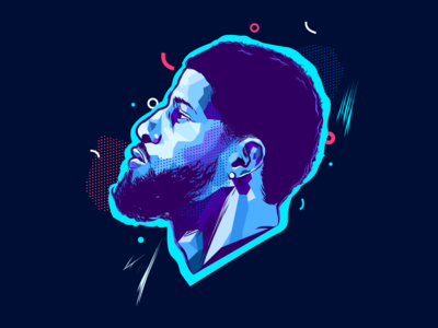 Paul George - Sport Illustration