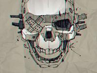 Future Punk Skull