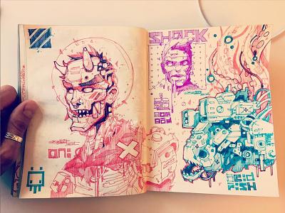 Sketchbook characterdesign traditionalart sketch illustration freehand drawing sketchbook