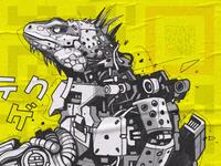 Techno Lizard