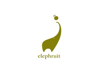 Elephruit logo elephruit elephant fruit nido thisisnido