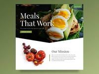 Mealworkx Site Design