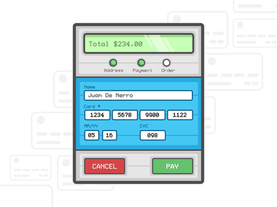 Daily UI - 2 Credit Card Checkout