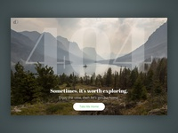 404 page - Sometimes, it's worth exploring