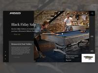 Johnson Fitness & Wellness - Billiards Homepage