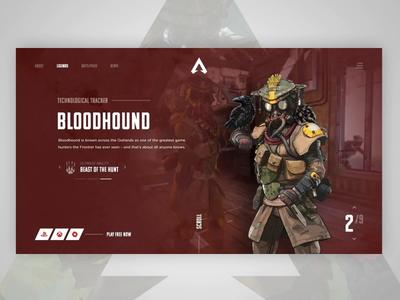 Apex Legends - Bloodhound Profile