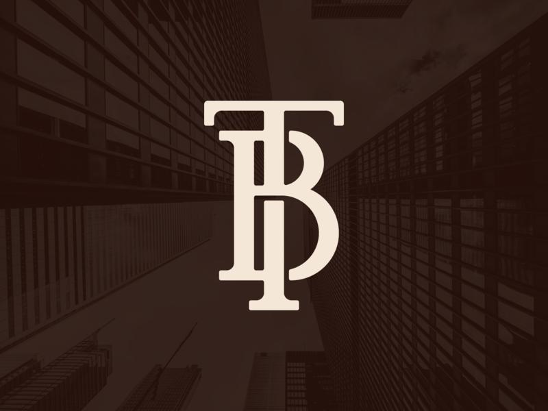 TB Monogram vector icon lettering logo typography slab serif monogram logo monogram design monogram letter mark monogram