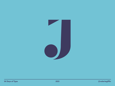 36 Days of Type - J hand lettering vector design minimal lettering typography 36 days of type 36dot 36daysoftype08 36daysoftype