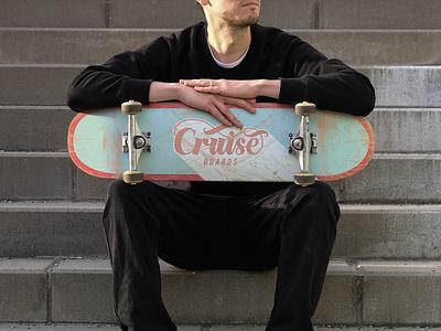Cruise Boards (1/3) calligraphy modern deck skateboard vector design typography lettering hand lettering