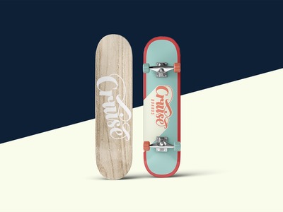 Cruise Boards (3/3) render calligraphy logo vector design hand lettering minimal lettering typography