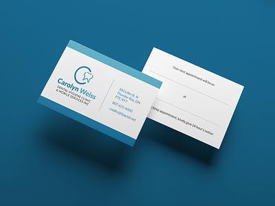 Carolyn Weiss (2/3) teeth dentist visual identity brand identity branding logo vector design minimal typography