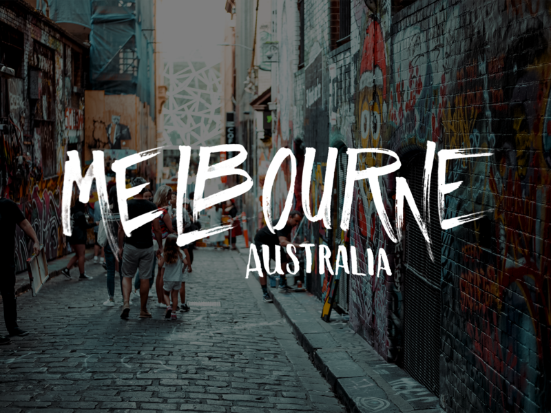 Melbourne Lettering dry brush hand lettering typography lettering briefbox