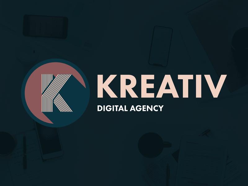 Kreativ Logo branding logo design icon design vector typography brandmark monogram lockup logo