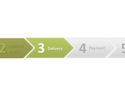 Order Progress Tracker green fresh progress tracker ecommerce