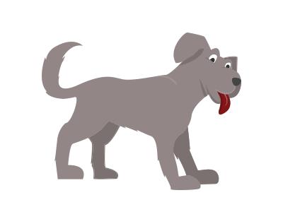 Cartoon Dog (Super Dog, 'disguised') cartoon dog illustration character
