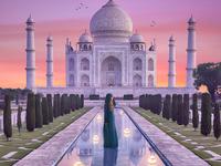 Taj Mahal Fantasy
