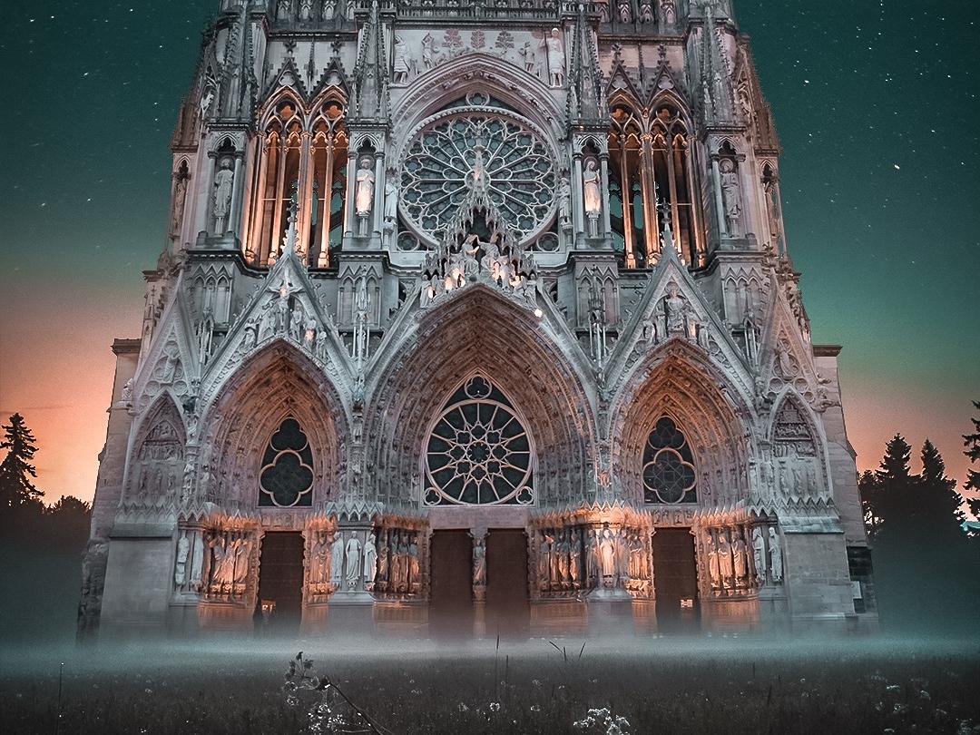 Notre-Dame Tribute notre dame surrealism design photoshop photograhy lightroom adobe creative cloud